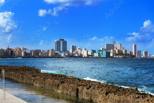 Papiers peints Havana beautiful sunny day