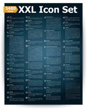 3480 Icon Set