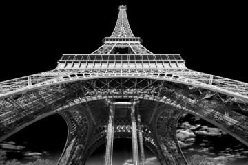 Fototapeta Paryż Eiffel tower at sunrise, Paris.