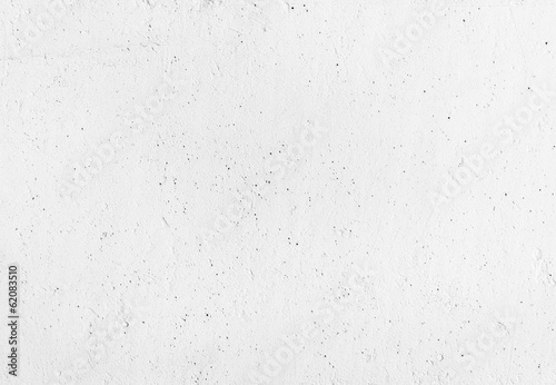 Poster Beton White concrete wall with plaster. Background texture