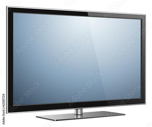 TV isolated Fototapet