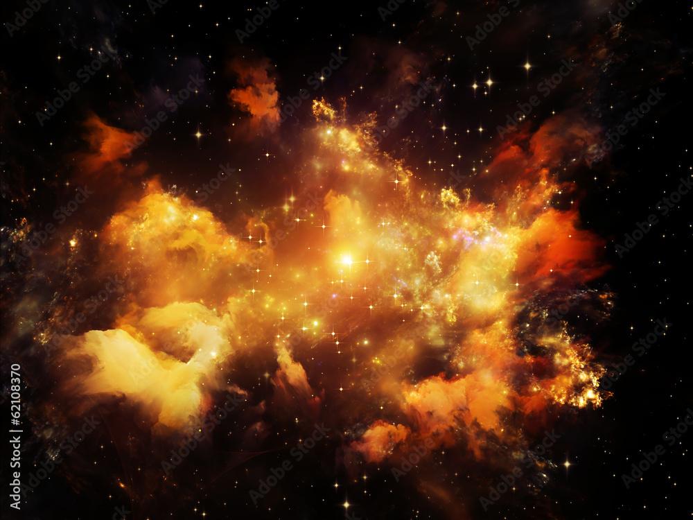 Fototapety, obrazy: Space Nebula