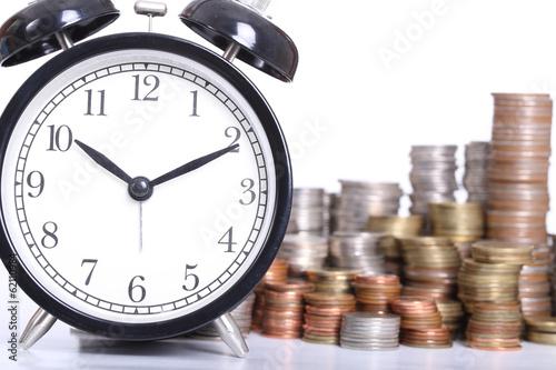 Cuadros en Lienzo Time is Money
