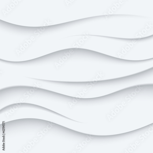 Foto op Aluminium Abstract wave White Wavy lines vector Background abstract. Sand top view.