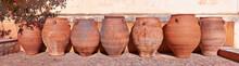 Clay Amphoras From Monastery O...