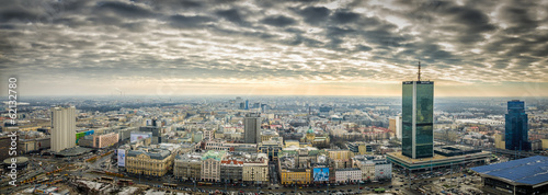 obraz dibond Warszawa