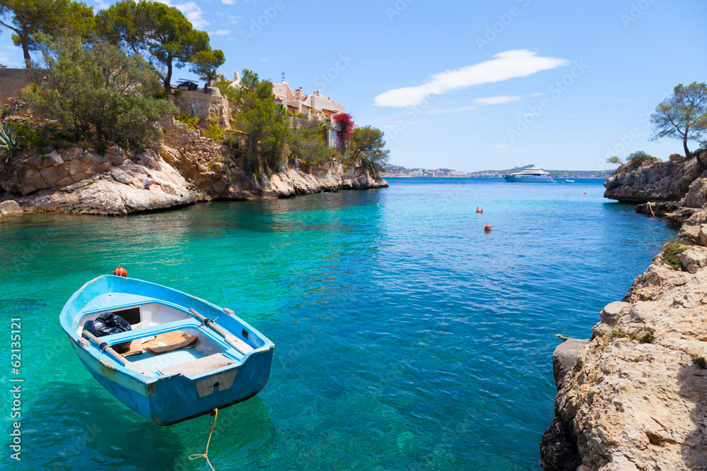 Fototapety, obrazy: Cala Fornells View in Paguera, Majorca