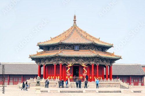Photo  Forbidden city Beijing Shenyang Imperial Palace China