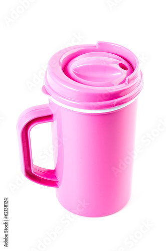 Plastic mug - Buy this stock photo and explore similar