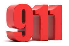 911 Emergency Call 3d Text
