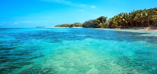 Tropical sea water in Maldives