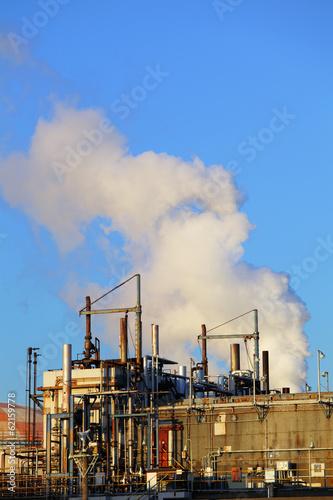Staande foto Industrial geb. Industrial building
