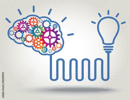Fotografie, Obraz  Birth of IDEA. Concept background.