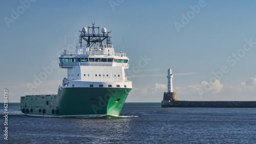 Oil Platform Supply Ship Canvas-taulu