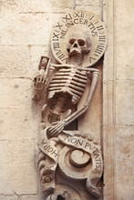Skeleton On Church Of Purgatory (1747), Bitonto