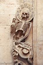 Skeleton On Church Of Purgatory (1747), Bitonto