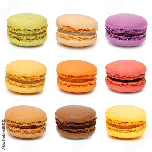 Fotografía Macarons - French pastries