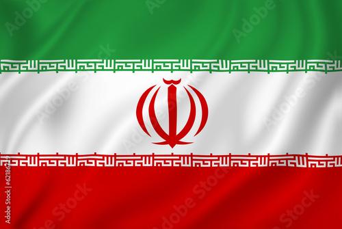 Fotografie, Obraz  Iran flag