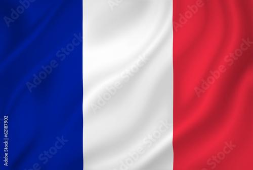 Valokuvatapetti France flag