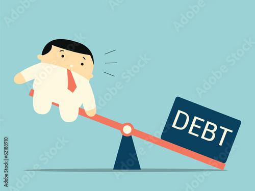 Fotografía  Heavy debt