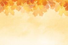 Textured Autumn Leaf Backgroun...