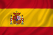 Leinwandbild Motiv Spain flag