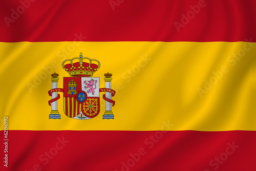 Fotografiet  Spain flag