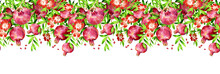 Pomegranate Seamless Garland-1