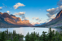 St. Mary Lake And Wild Goose I...