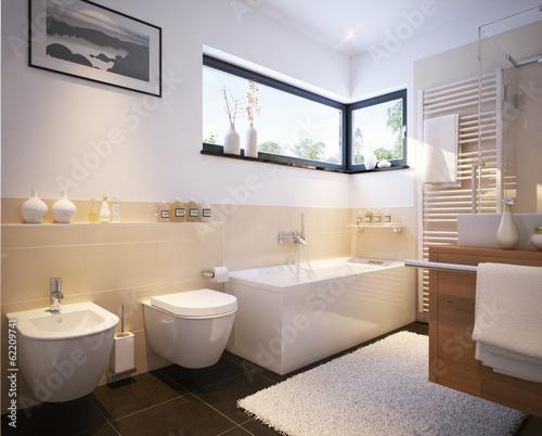 Kleines Badezimmer In Einfamilienhaus   Small Modern Bathroom