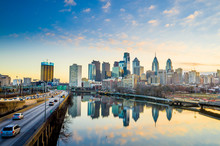 Downtown Skyline Of Philadelph...