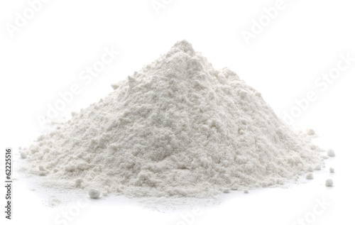 Foto Pile of wheat flour