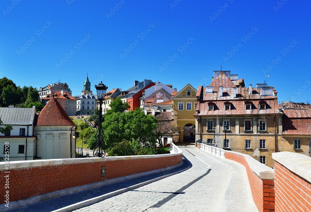 Fototapety, obrazy: Stare Miasto Lublin. Miasto w Polsce