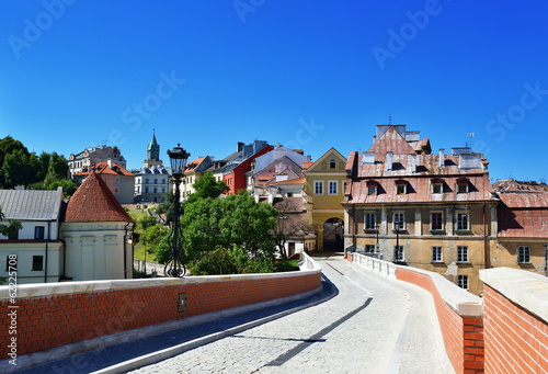 Fototapety, obrazy: Old town of Lublin. City in Poland.