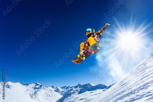 slopestyle Canvas Print