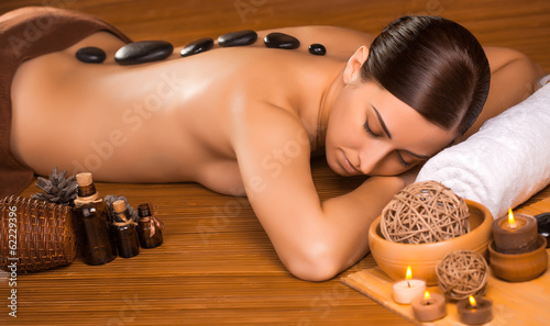 Brunette babes explore erotic massage