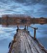 un dia de triste en el lago