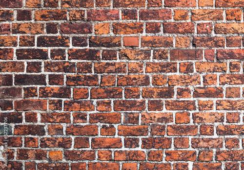 Fototapeta premium Cegła mur gotyk tekstura