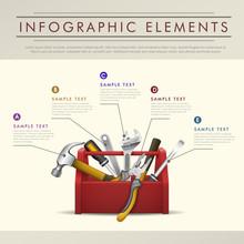 Abstract Toolbox Theme Infogra...