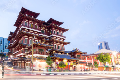 Photo  Singapore buddha tooth relic temple