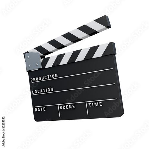 Valokuva  3d Icon Filmklappe