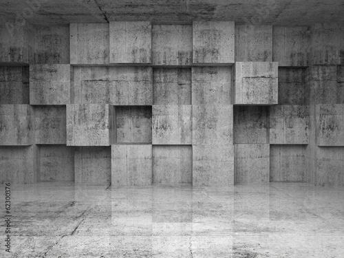 abstrakta-pusty-betonowy-wnetrze-z-szescianami-na-scianie