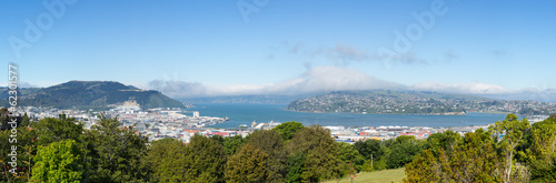 Photo  Panoramic landscape Otago Bay Dunedin