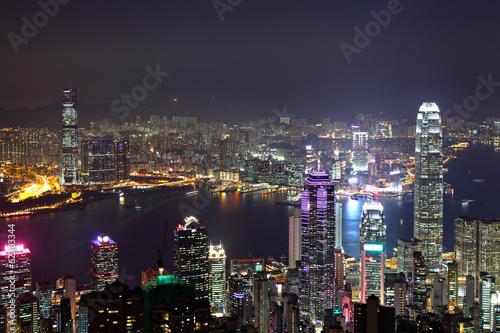 Poster Australie Hong Kong city