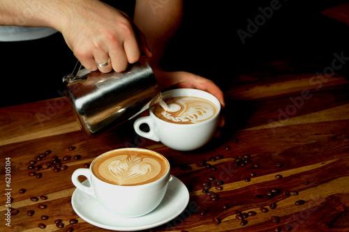 Fotografie, Obraz  Latte Art