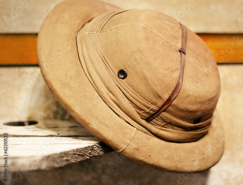Vintage safari hat