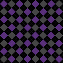 Black, Purple And Gray Argyle ...