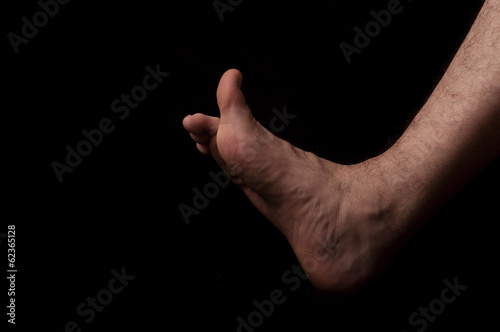Foto Human anatomy series: thumb, dorsal flexion