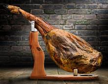Iberian Ham Isolated