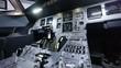 Cockpit Airbus - Slideraufnahme